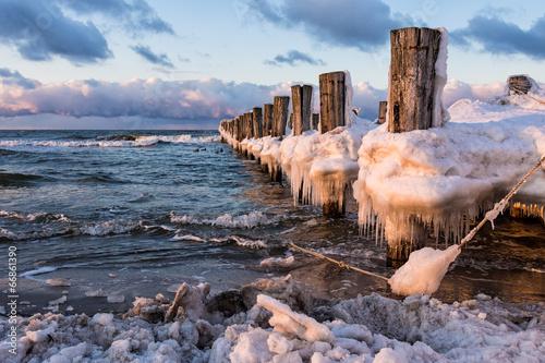 Poster Cote Ostseeküste