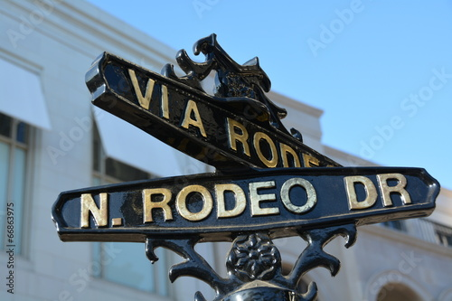 Cadres-photo bureau Los Angeles Rodeo Drive