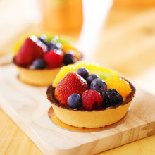 Fruit Tarts Shot With Selectiv...