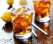 sweet tea with lemon and ice