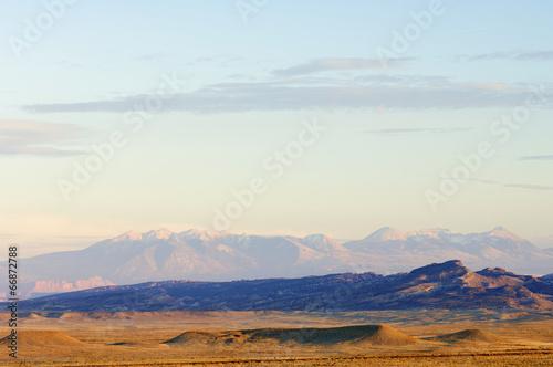 Poster Parc Naturel Desert