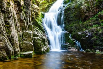 The Karkonosze National Park - Kamienczyk waterfall