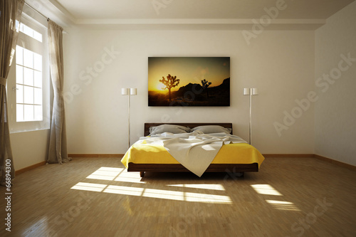 Fototapete 3D Schlafzimmer - Fototapeten | Wallsheaven