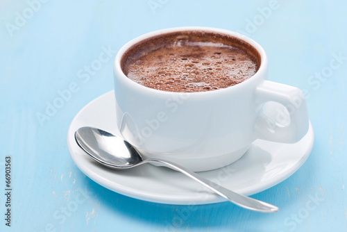 Poster Chocolate cup of hot chocolate