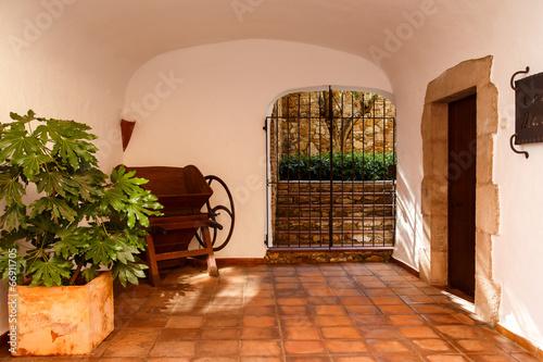 Fotografie, Obraz  rural house entry