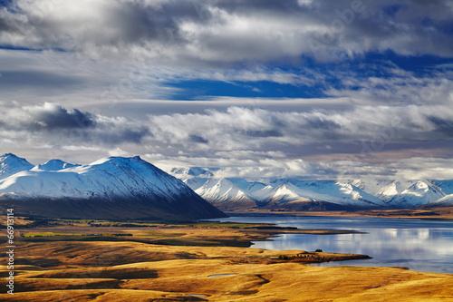Poster Nouvelle Zélande Southern Alps, New Zealand
