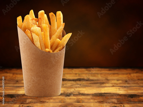 french fries Canvas Print