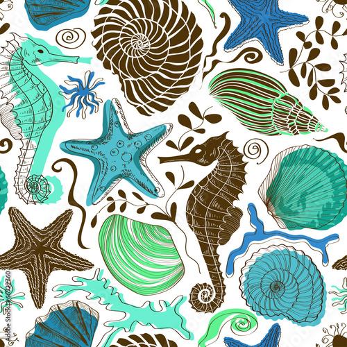 jednolity-wzor-zwierzat-morskich