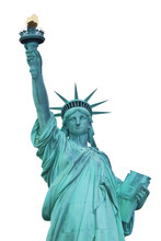 Statue Of Liberty. New York City.