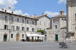 Arringo Square is the oldest monumental square in Ascoli Piceno