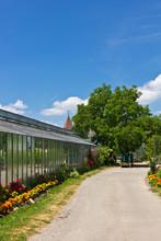 Gewächshäuser Auf Der Insel Reichenau