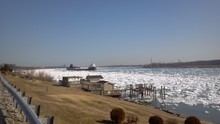 St. Clair River Ice