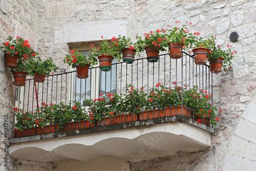 Deurstickers Toscane Glimpse of Visso, Province of Macerata - Italy