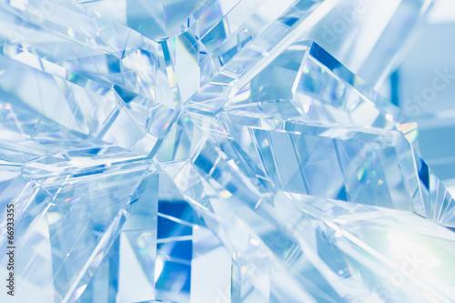 streszczenie-niebieskim-tle-refrakcji-krysztalow