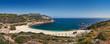 Exotic beach in Euboea, Greece