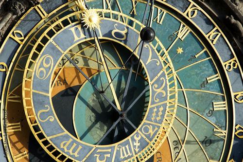 Papiers peints Prague Prague Astronomical Clock (Orloj) in detail in the Old Town