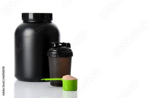 Fotografie, Obraz  Whey Protein