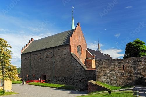 Akershus castle in Oslo Poster