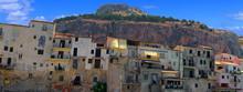 Village De Céfalu En Sicile