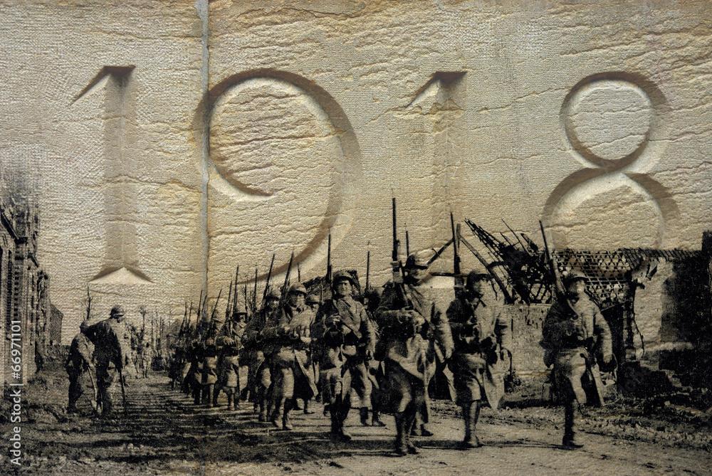 Fototapeta Grande Guerre 1914-1918 - 3