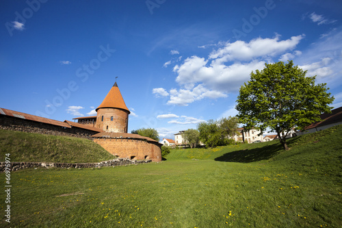 Spoed Foto op Canvas Oost Europa Kaunas Castle, Lithuania