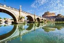 Bridge And Castle Sant Angelo,...