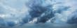 Leinwandbild Motiv Dark clouds