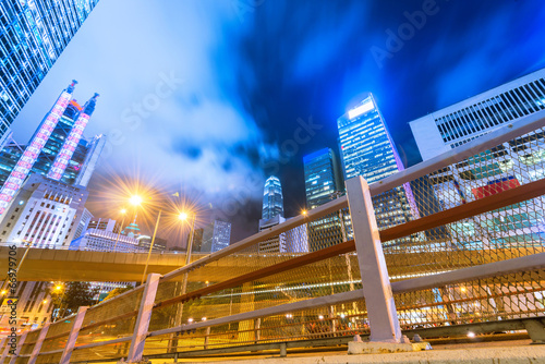 Photo  Beautiful scenery of the city at night