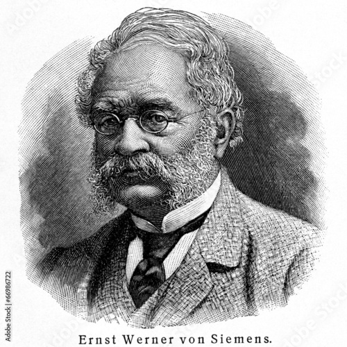 Fotografía  Ernst Werner von Siemens