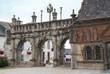 Arc de triomphe de l'église Saint Suliau à Sizun, Finistère