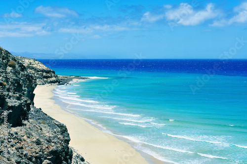 Butihondo Beach in Fuerteventura, Canary Islands, Spain