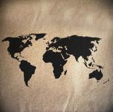 world map vintage pattern