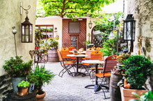Summer Cafe Terrace