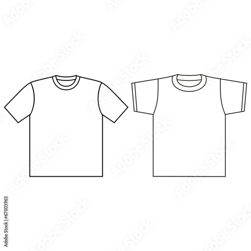 blank t shirt template buy this stock vector and explore similar