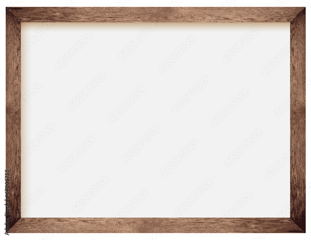 Fototapety, obrazy: natural wooden photo frame