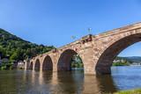 Stary most w Heidelberg - Niemcy