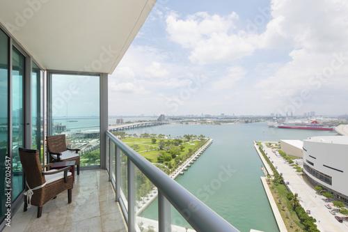 Fotografie, Obraz  Balcony with a view