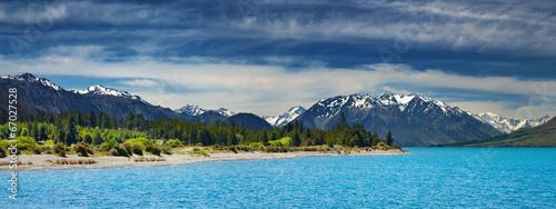 Poster Nouvelle Zélande Ohau lake, New Zealand