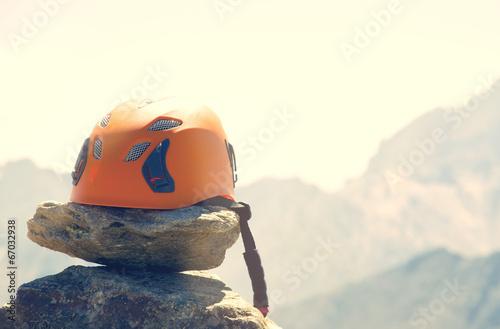 In de dag Alpinisme Kletterhelm
