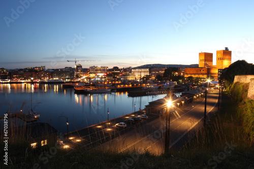 Fotografie, Tablou  Hafen von Oslo