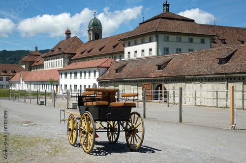 Fototapety, obrazy: Kloster Einsiedeln Switzerland