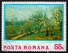 Postage Stamp Romania 1974 Orc...