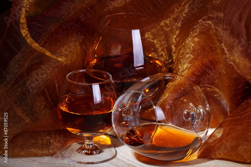 Ballon di cognac Wallpaper Mural