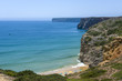 Small bay and beach in Sagres, Portugal