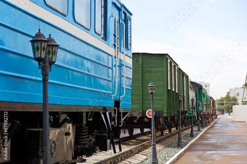 Rail road coach
