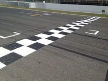Linea De Meta En Circuito De C...