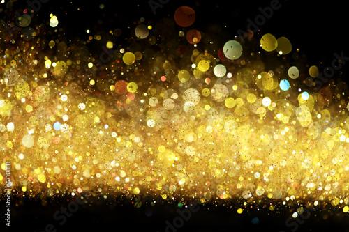 Fotografia, Obraz  Gold glitter