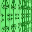 Leinwanddruck Bild - Curved steel