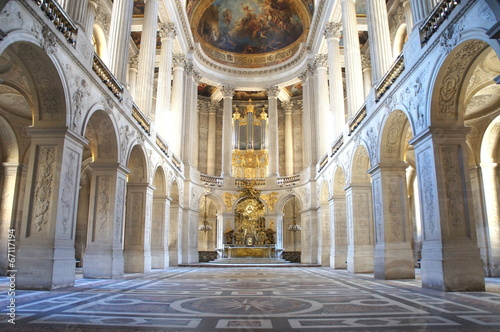 Vászonkép 王の礼拝堂、ベルサイユ宮殿