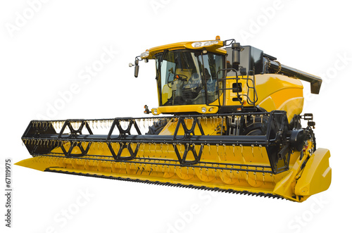 Photo  Agricultural harvester